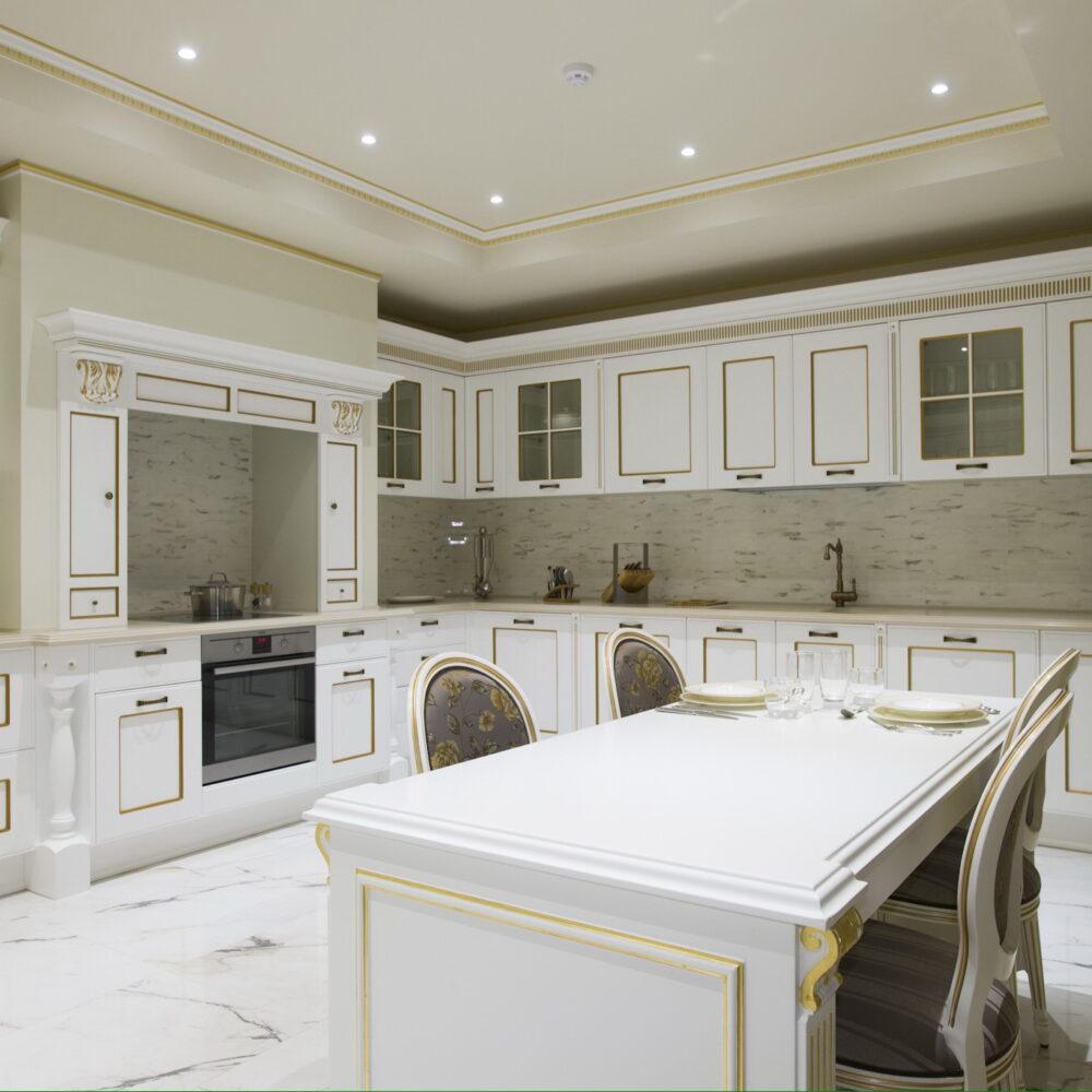 кухня классическая фото-01
