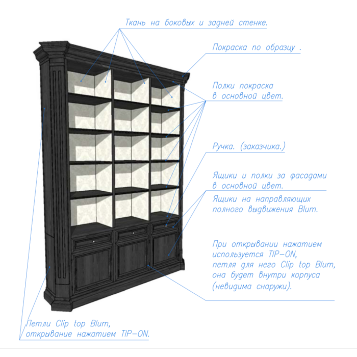чертежи-мебели-топинтерьер